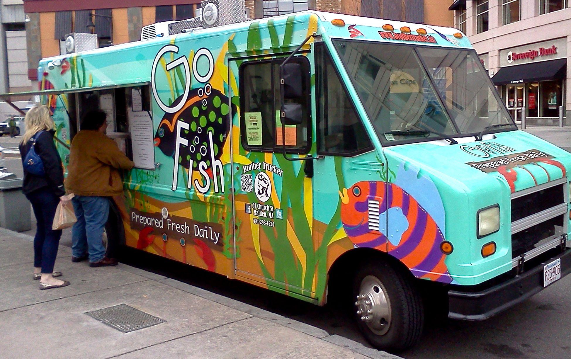Go Fish Review Boston Food Trucks