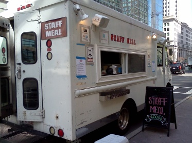Staff Meal Food Truck
