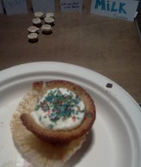 Captain Crunch Cupcake